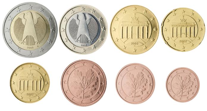 Liste Des Pièces De 2 Euros Commémoratives De Lallemagne